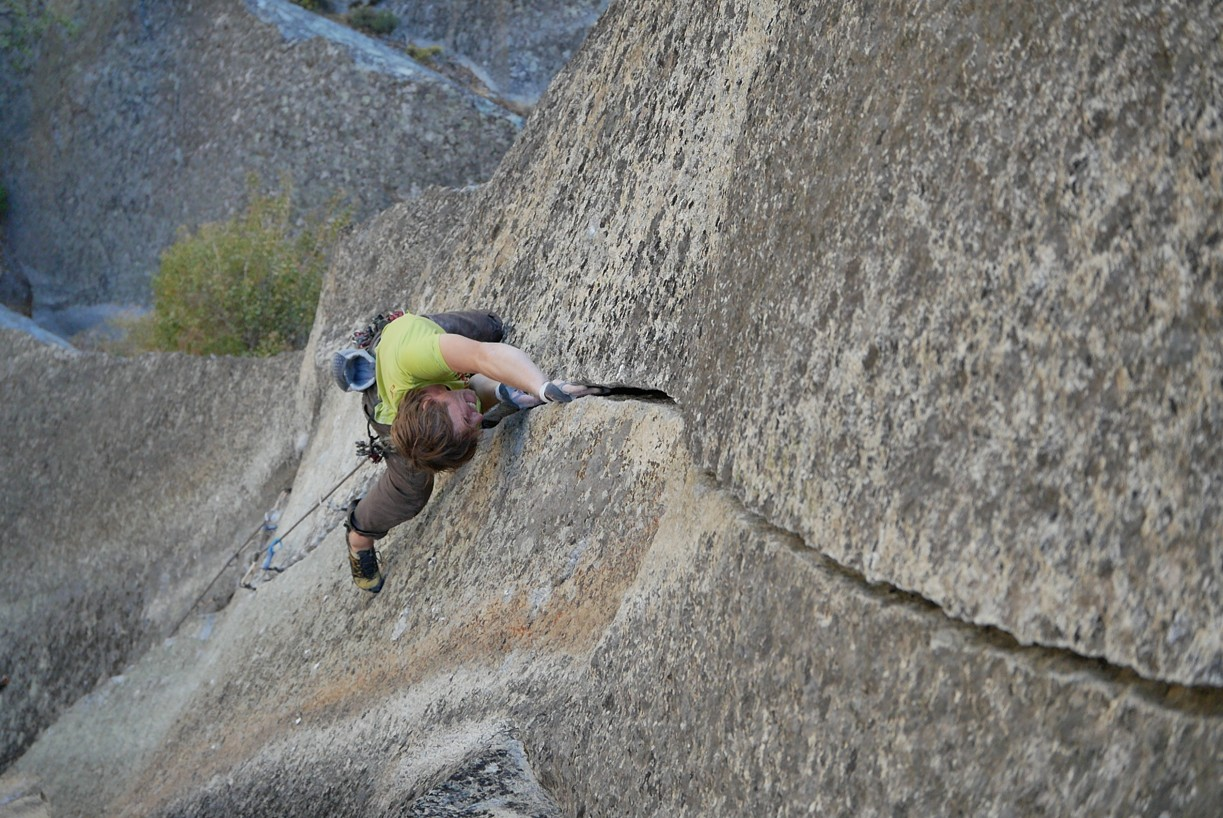 To Yosemite for the first 7c+ or the super job by the Hubers