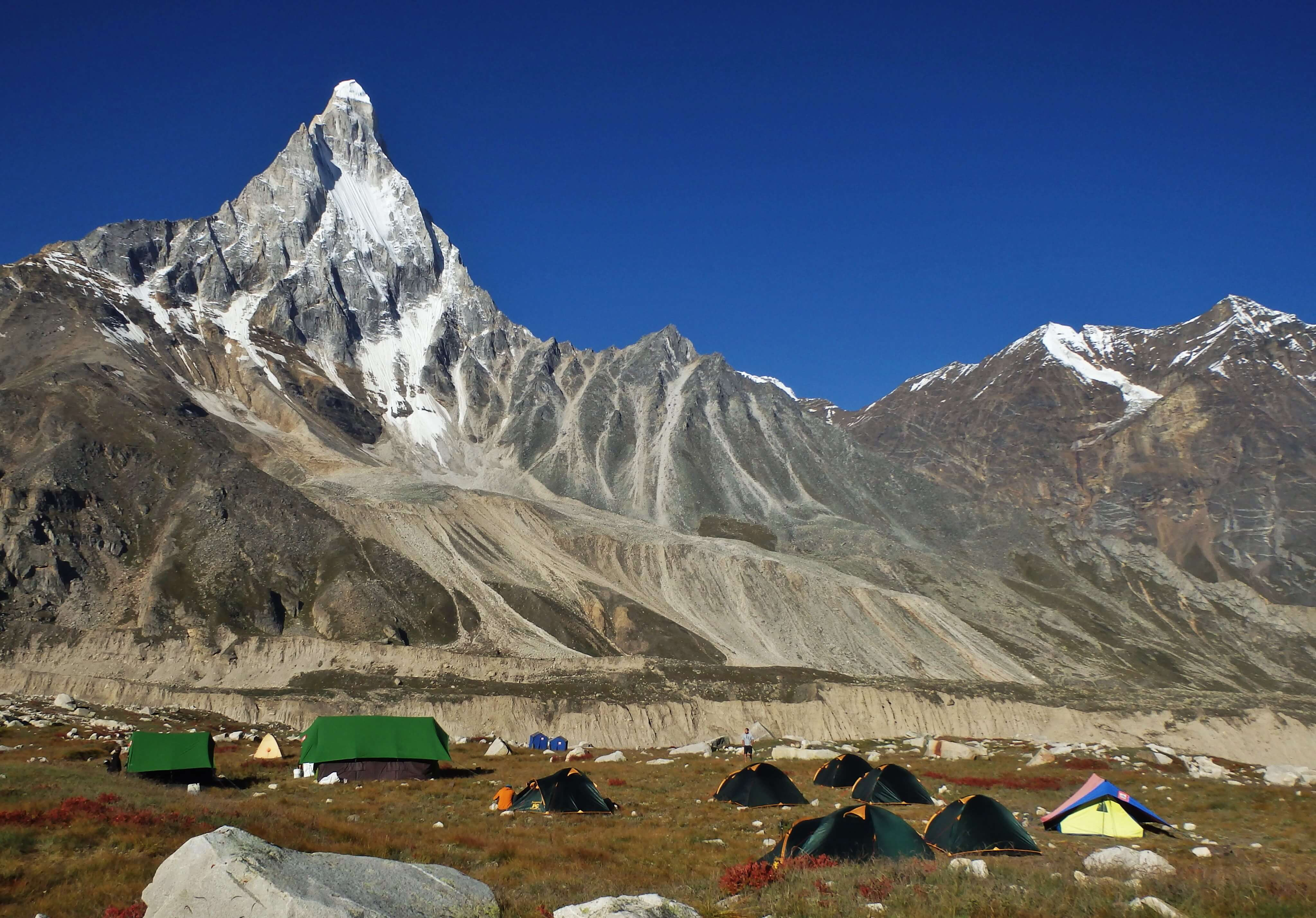 First ascent attempt in India