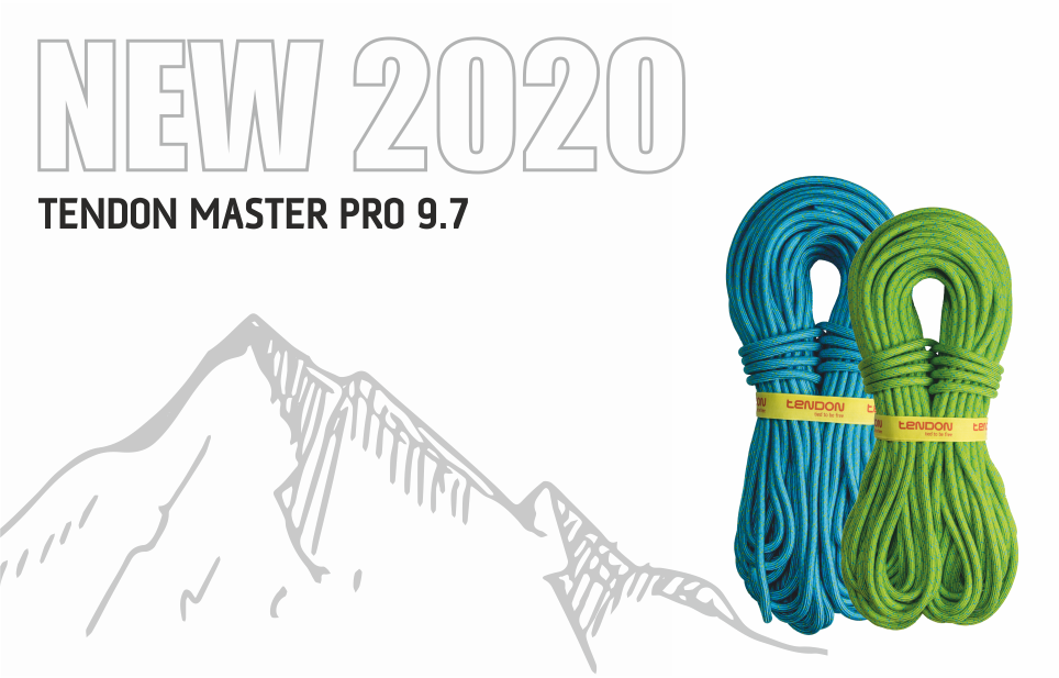 MASTER PRO 9.7 NEW ROPE FOR 2020