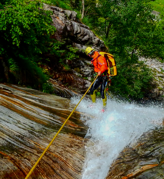 Speleo and Canyoning